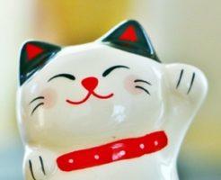 招き猫は左手と右手で意味が違う?手の高さや置き方、色で効果が変わる!
