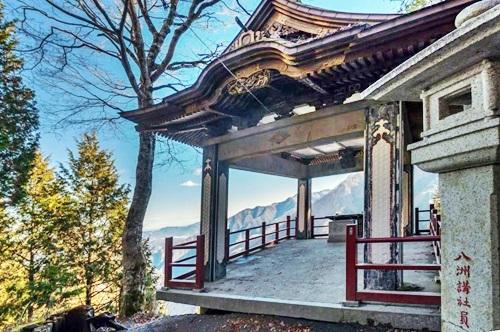三峰神社 奥宮を参拝
