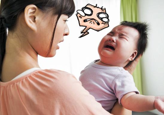 赤ちゃんの夜泣きに困ったママ