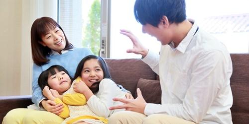 イクメンパパ、子どもへの優しい対応