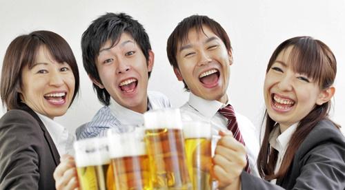 イクメンパパだって遊びたい!ビールで乾杯